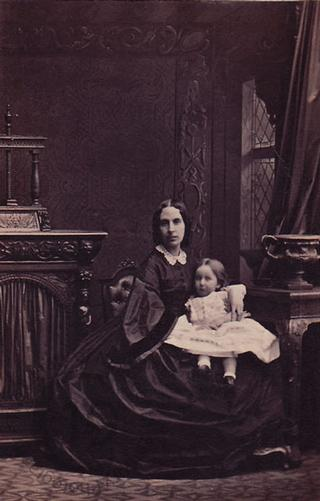 Mrs Charles Monk and Miss Julia Monk