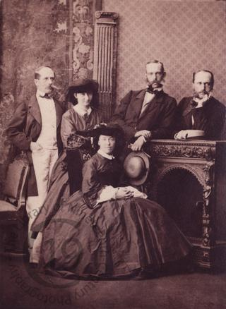 Archduke Rainer of Austria and group
