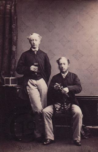 Captain Arthur Tempest and Mr Charles Tempest