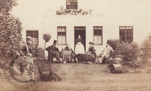 An early lawnmower
