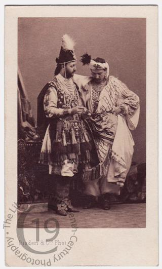 Henri de Lutteroth and unidentified friend