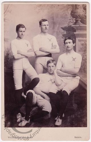 Four fencers