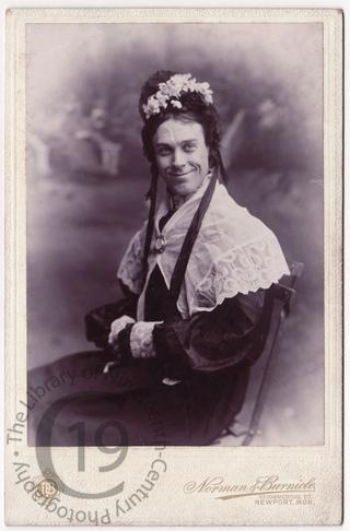 W.S. Penley as 'Charley's Aunt'