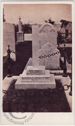 Susan Harriett Browne, died 1865