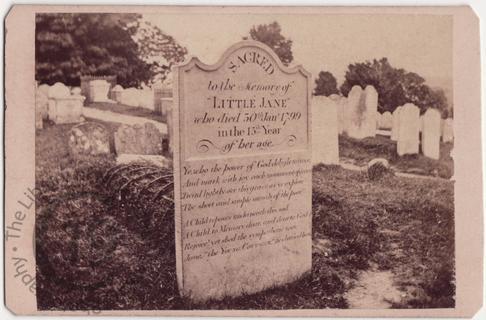 'Little Jane', died 1799