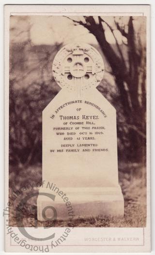 Thomas Keyes, died 1869