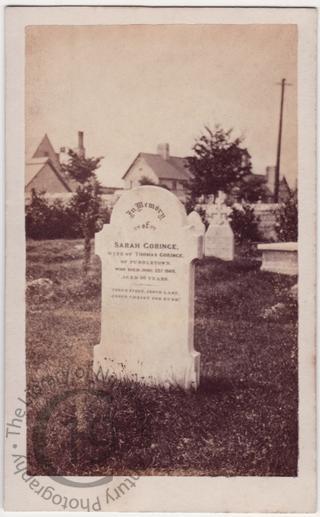 Sarah Goringe, died 1869
