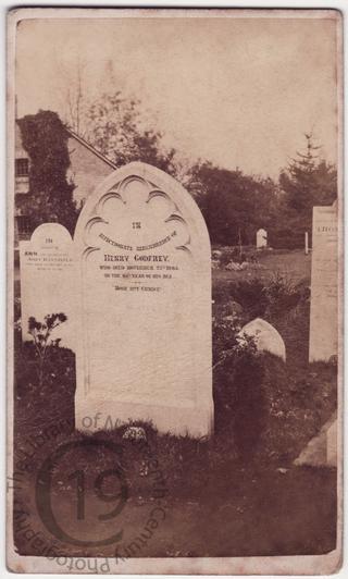 Henry Godfrey, died 1865