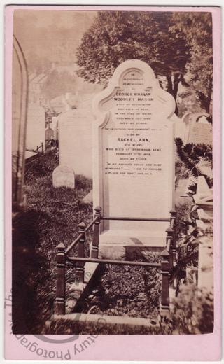 George William Woodley Mason, died 1866