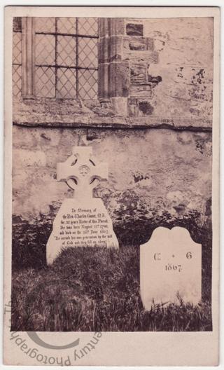 Rev Charles Gaunt, died 1867