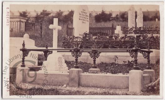 Harry Lawless Nicholson, died 1869