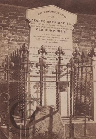 George Mogridge, died 1854