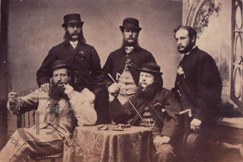 Group on Prince Edward Island