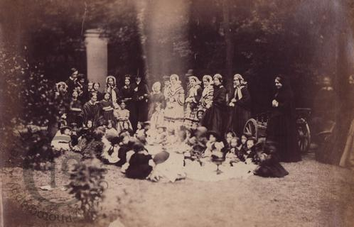 Group portrait with children