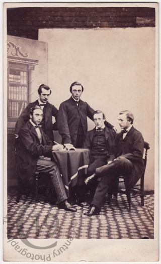 Five young men