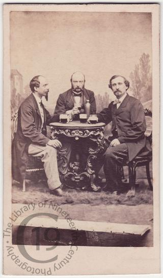 Three drinkers