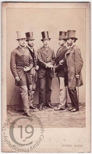 Five men in Buenos Aires