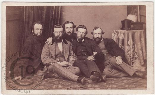 Five men on the floor