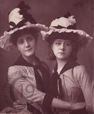 Annie Hughes and Maude Millett
