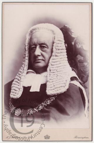 Richard Everard Webster, later Lord Alverstoke