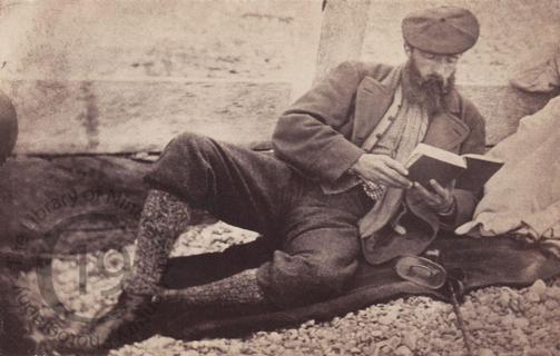 Unidentified reader