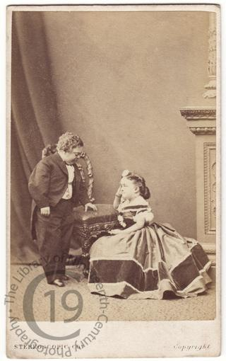 General Tom Thumb and his wife