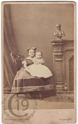 Mrs Tom Thumb and 'her' baby