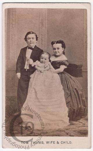 Tom Thumb and family