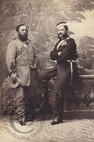 Captain Malet and Colonel Hume