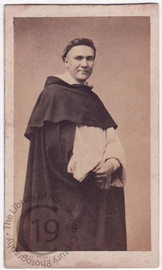 A Dominican monk