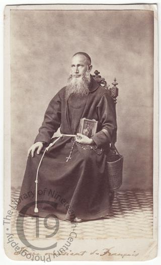 Mendicant Franciscan friar