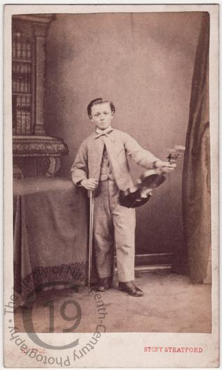 Boy with violin