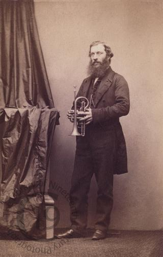 Unidentified man with a trumpet