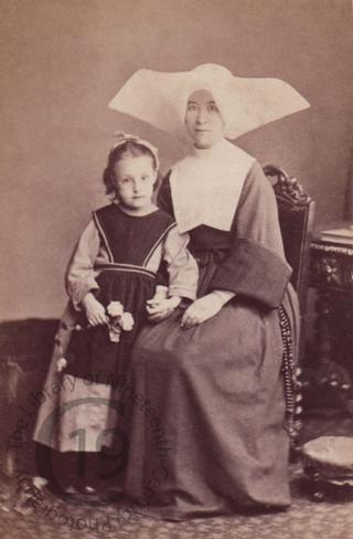 A nun and pupil