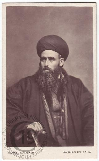 Syrian Bishop of Jerusalem, 1874