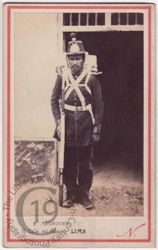 Peruvian soldier