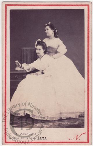 Señorita Nieto and Señorita Elisuera