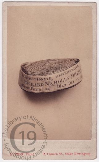 Richard Milliken's hat