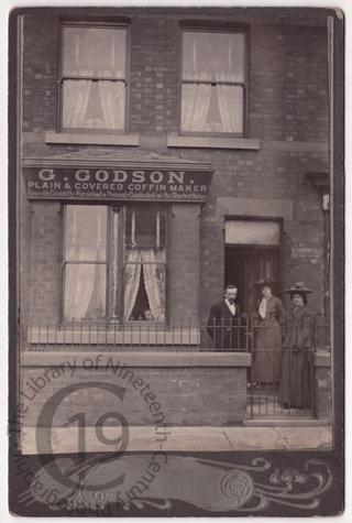G. Godson, coffin maker