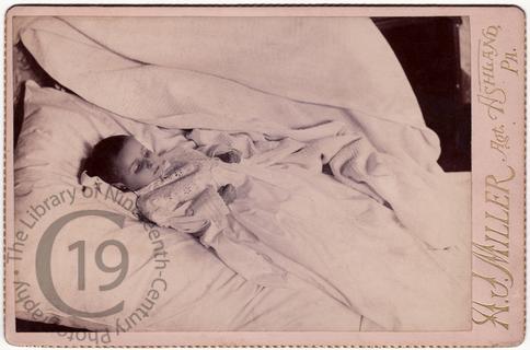Boy in Christening gown