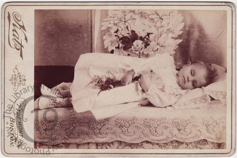 Young girl with white leather boots
