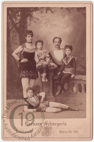 A family of acrobats
