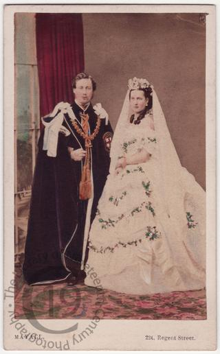 The Prince and Princess of Wales