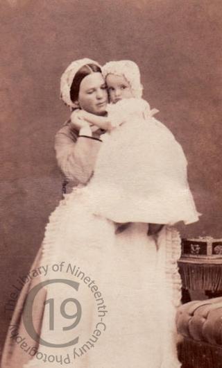 Prince Victor Napoléon and his nurse