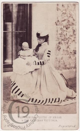 Princess Alice and Princess Victoria of Hesse