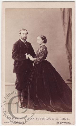 Princess Alice and Prince Louis of Hesse