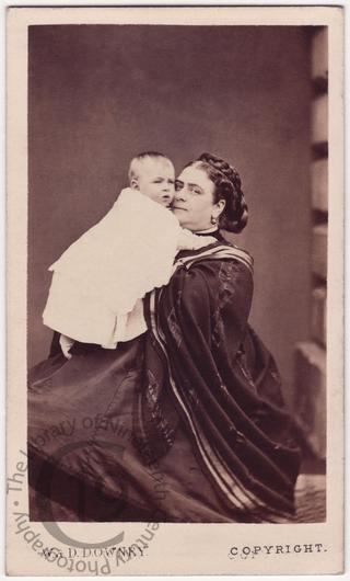 Duchess of Teck and baby