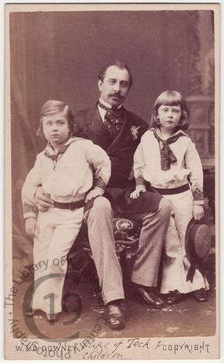 Duke of Teck and his sons