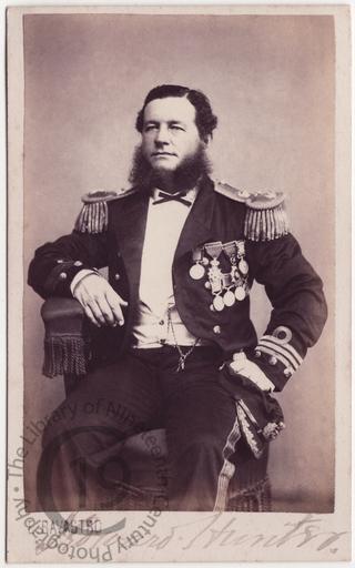 Captain Howard Hunter