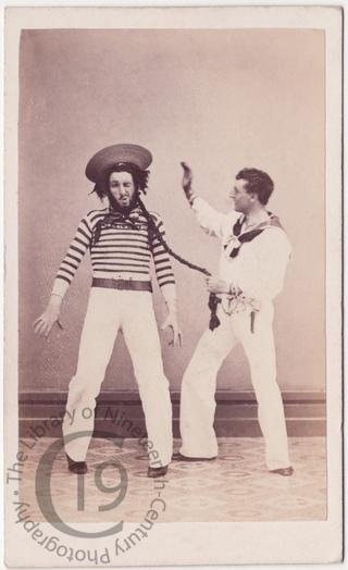 Guy Mainwaring and Lord Charles Beresford